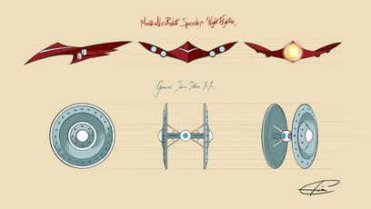 TNFO Spaceship Design