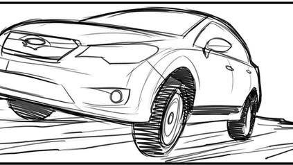 Subaru XV Storyboard