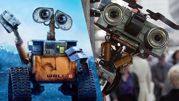 Wall-e and Johnny 5