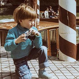 Elia Cristofoli fotografo bambino