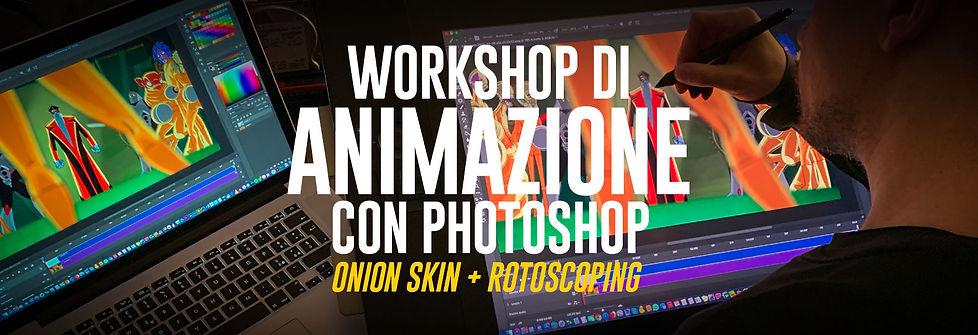 Corso di Animazione in Photoshop - Elia Cristofoli - Solingo.it