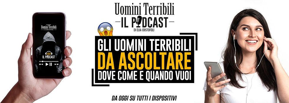 Uomini Terribil - il Podcast che ogni donna avrebbe sempre voluto ascoltare!