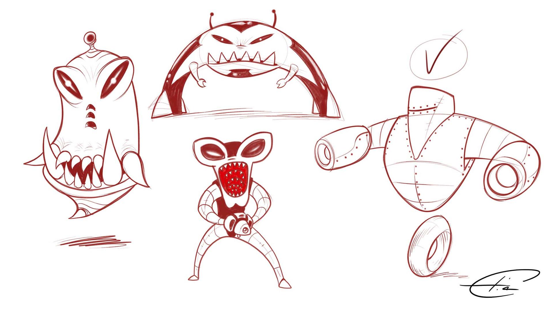 TNFO Character Design