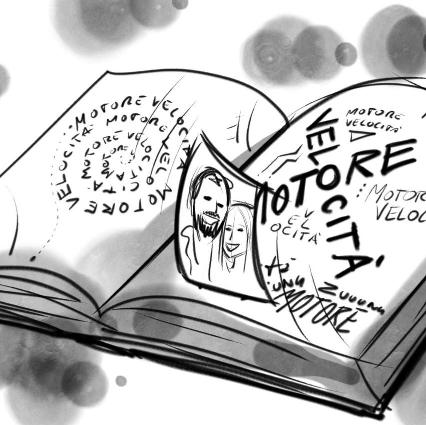 Dettaglio del libro (o diario)
