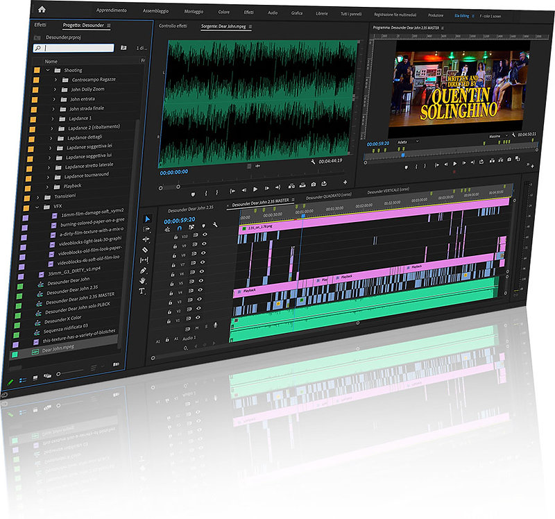 Adobe Premiere Pro - Corso di Editing Video - Elia Cristofoli
