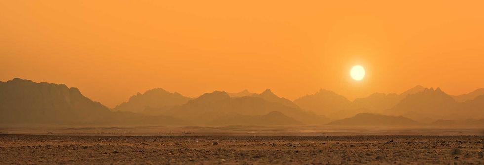 Sun, desert, bye, calm, Elia Cristofoli