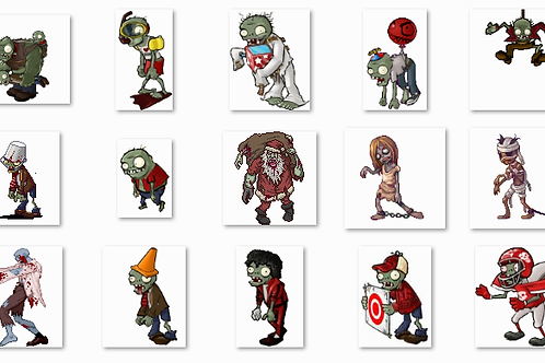 Zombie Sprites Collection