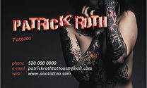 Tattoo Business Card Template