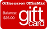 Office Depot OfficeMax Gift Card Check balance