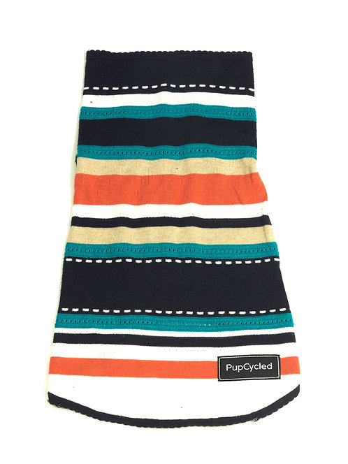 Colorful Striped Large Sweater