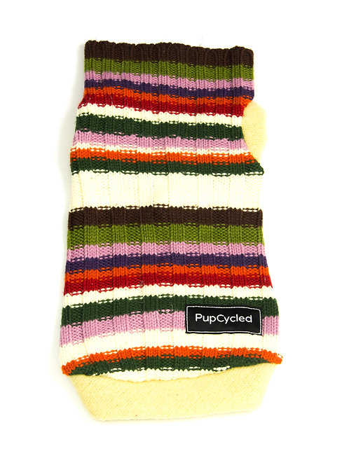 Colorful Striped Small Sweater