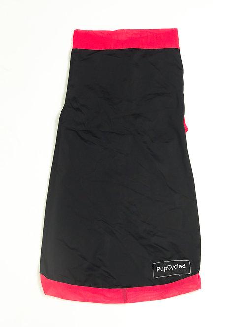 Black and Pink Medium Playsuit