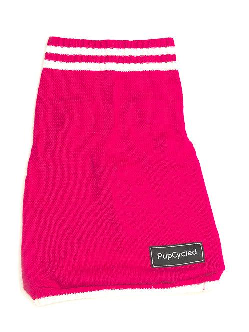 Pink Varsity Medium Sweater