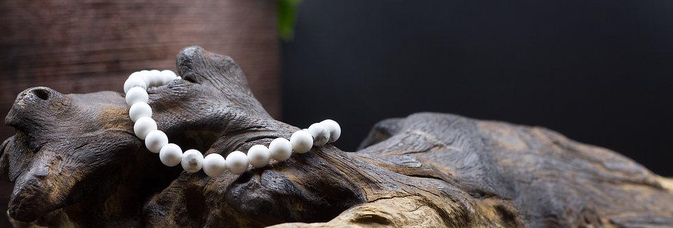 Bracelet Lithothérapie Howlite