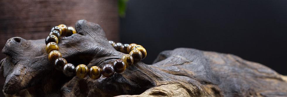 Bracelet Lithothérapie Oeil de tigre