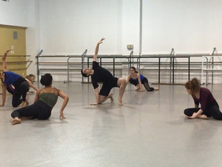 Assimilating, learning, and growing as a new dancer with CCDT