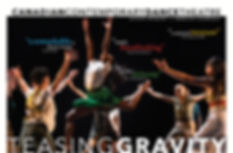 Canadian Contemporary Dance Theatre Teasing Graviy Tour
