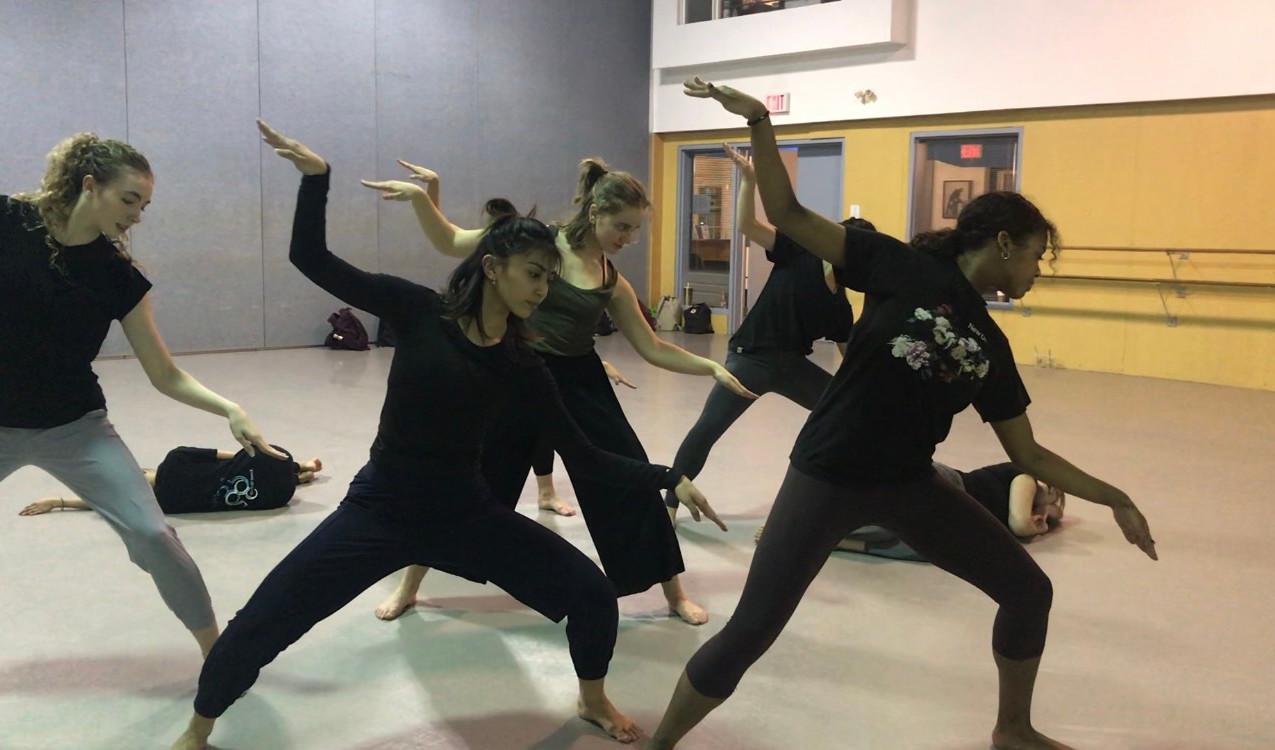 The 2020 'infinite' cast in rehearsal.