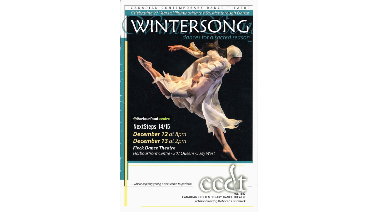 2013 WinterSong Programme