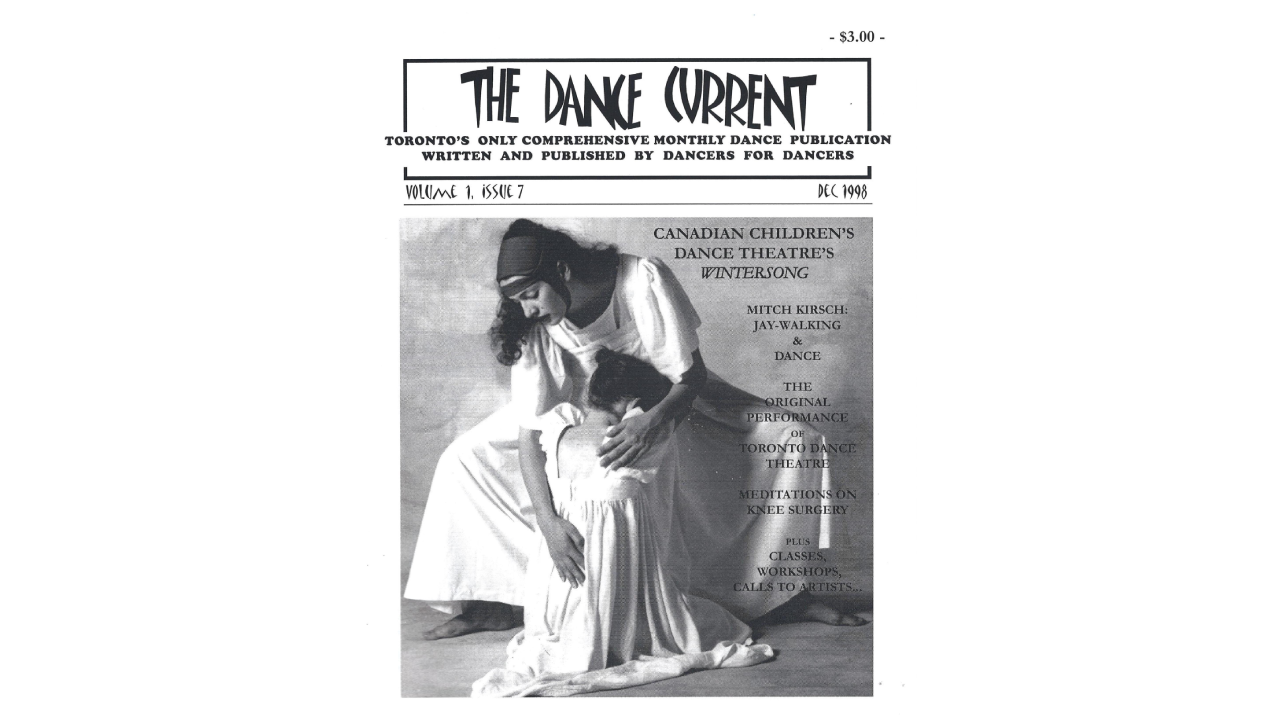 Cover of The Dance Current, December 1998