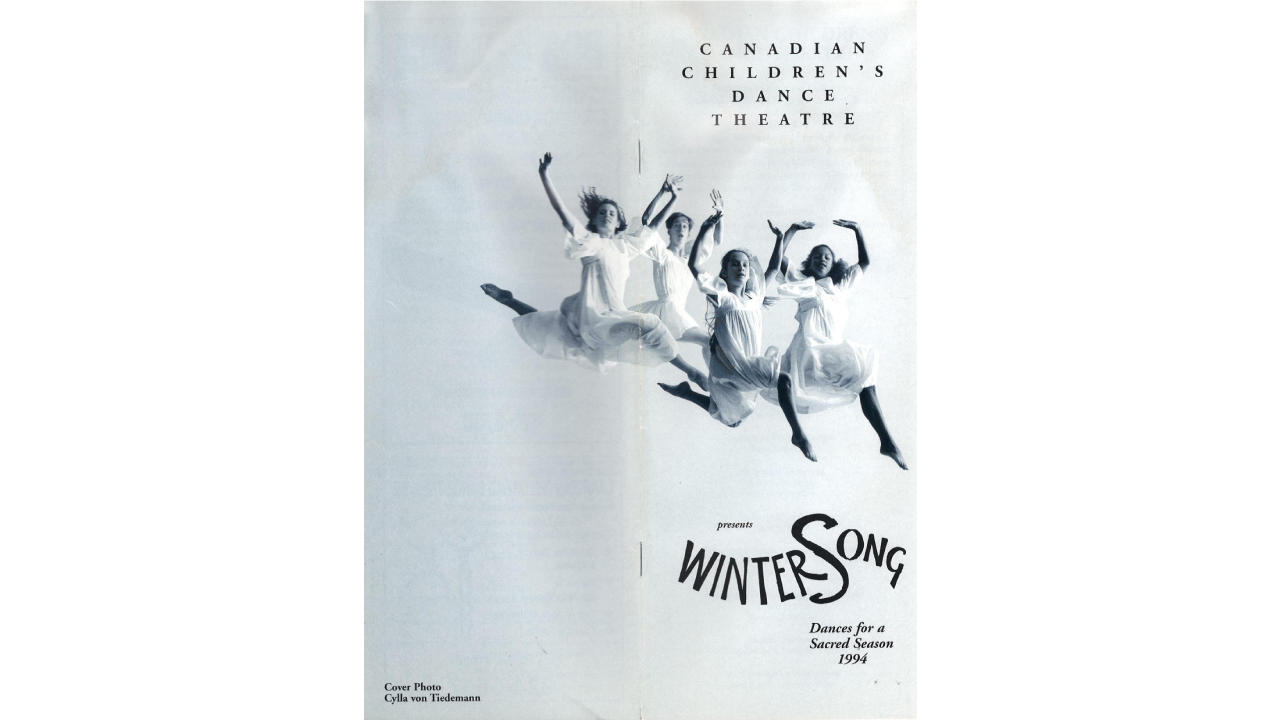 1994 WinterSong Programme