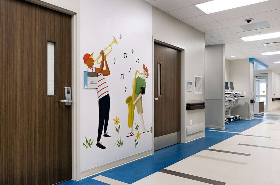 Children's Hospital - Wall Graphics (5 o