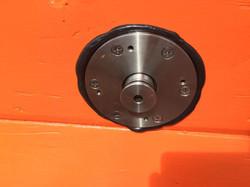 costum built drain plug