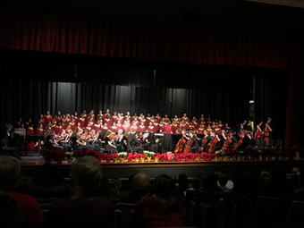 The Westerville North HS Choir and Orchestra