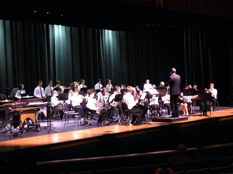 The Westerville North HS Concert Band