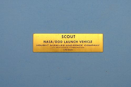 Scout NASA / DOD Nameplate