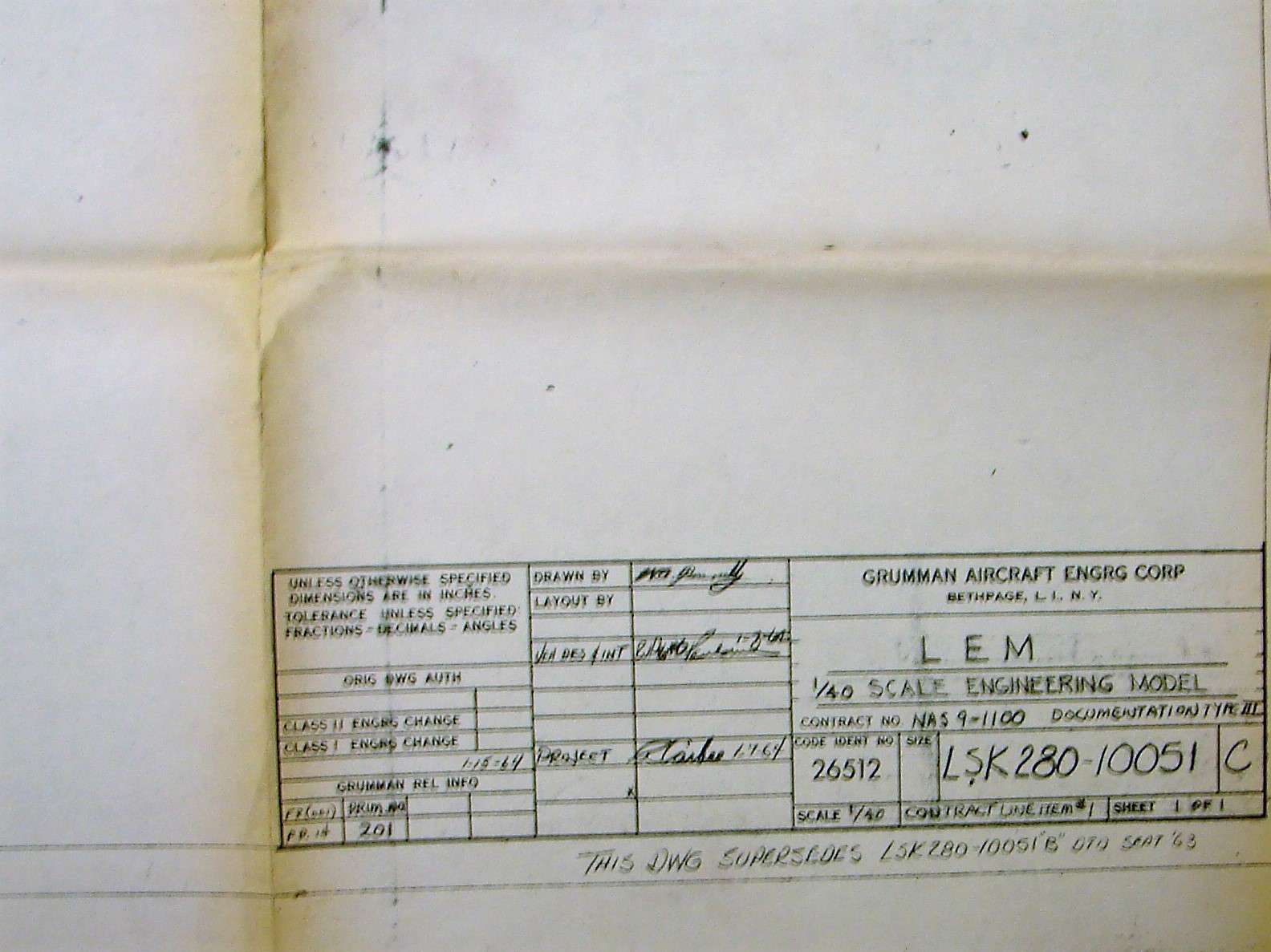 LM Blueprint 1964