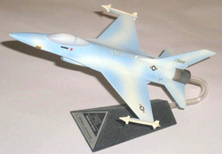 General Dynamics F-16 sky blue