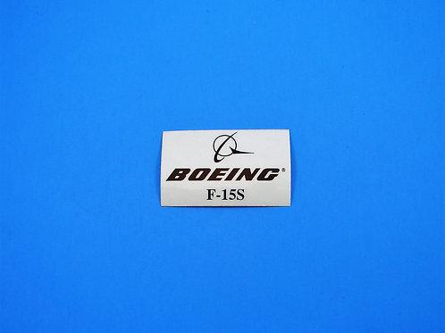 Boeing F-15S
