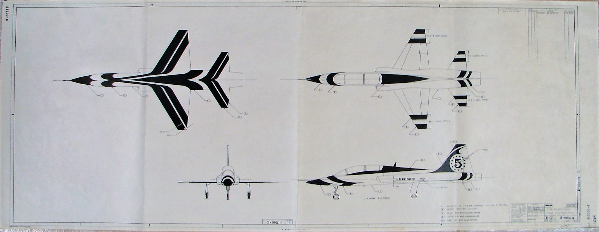 T-38 USAF Thunderbird 3.14.1974