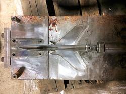 F-105 fuselage mold