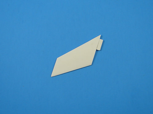 Lacrosse Missile Front Fin - White