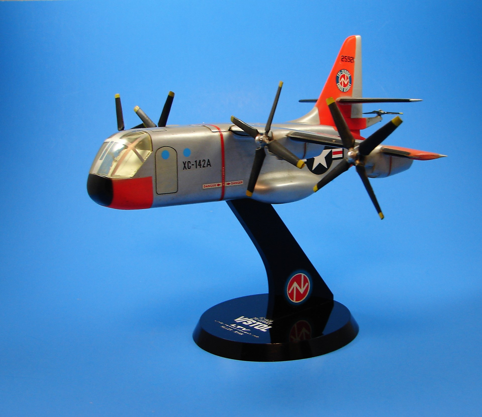 XC-142A Tri-Service Cargo Assult