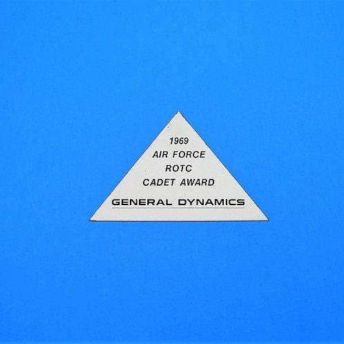 1969 Air Force ROTC Cadet Award