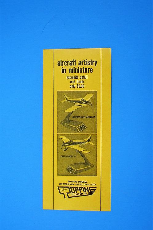 Cessna / Piper Cherokee Sales Brochure