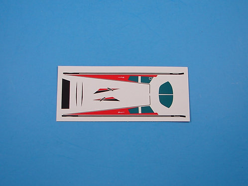 Piper Cherokee Red Decal Sheet