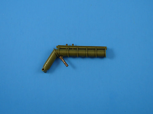 Lacross Launcher Rail & Tube Launcher Assembly