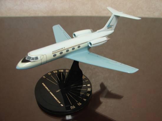 Grumman Gulfstream II blue