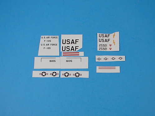 1:120 F-105 Thunderchief decal set