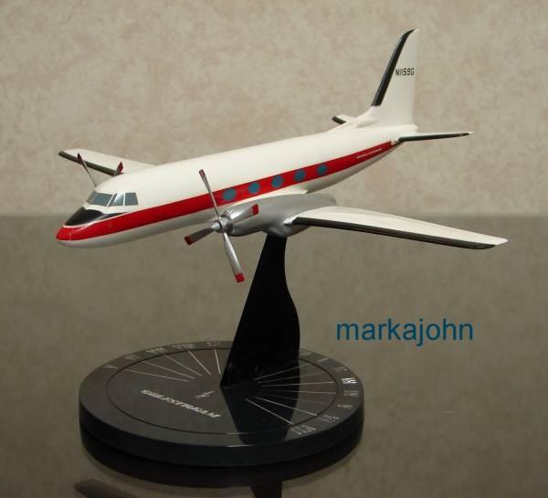 Grumman Gulfstream I red