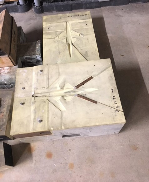 X-29 Plaster mold