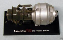 Lycoming T-53 Gas Turbine Engine
