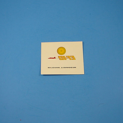 McDonnell Douglas EF-18 stand decal