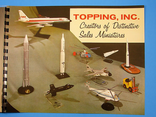 1961 Topping Models Inc. Catalog- Full Cover Print