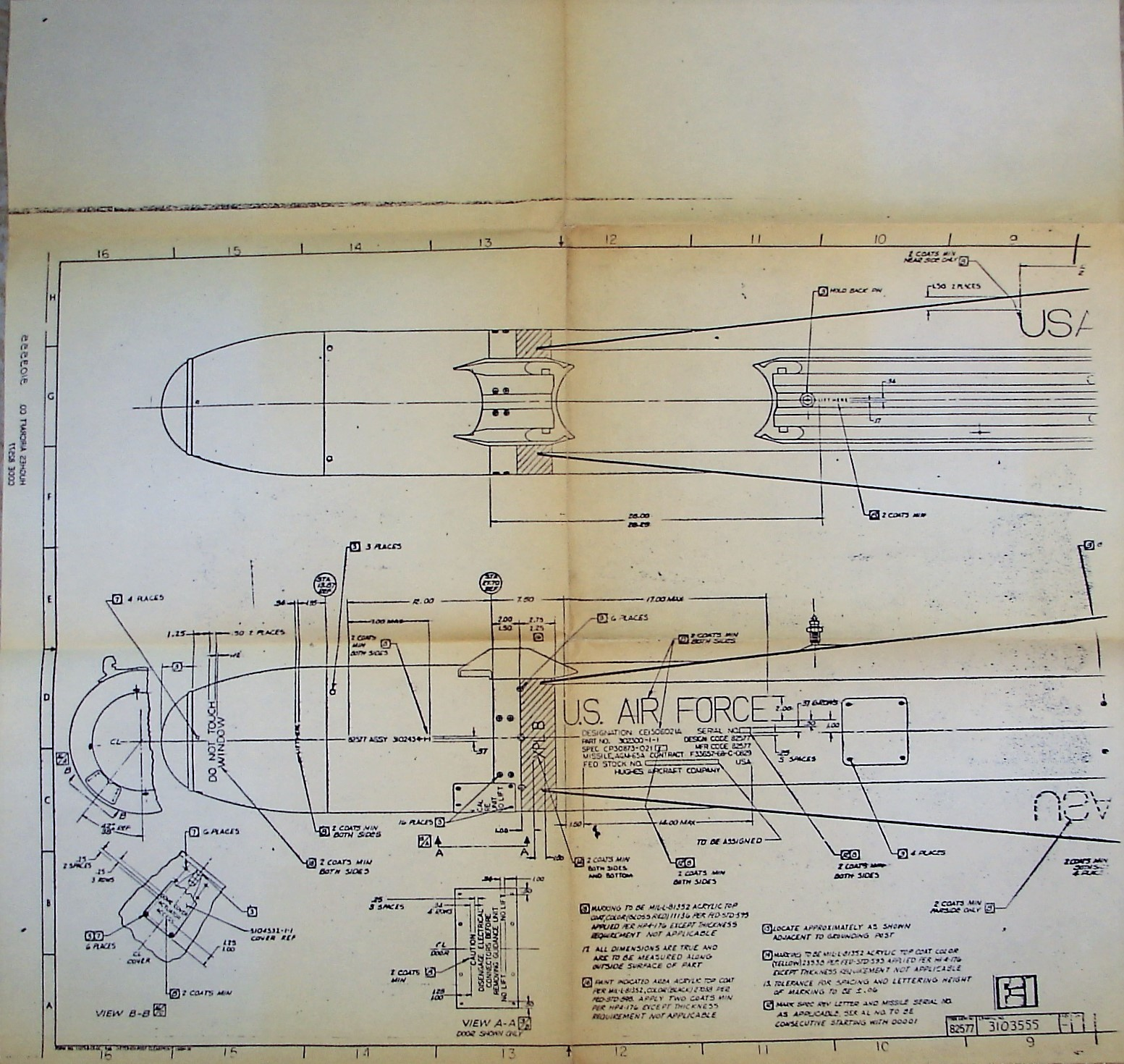Hughes Gar model blueprint