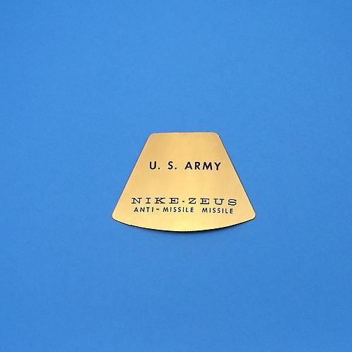 U.S. Army Nike-Zeus